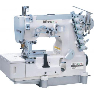 MV562-10 MIVAMAC Masina de cusut acoperire speciala pt. aplicat banda cu incretire si cu punto bambola (feston)